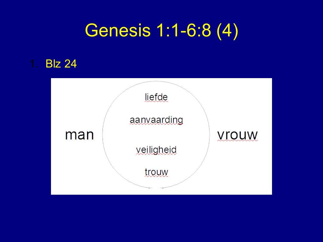 Genesis 1:1-6:8 (4) 1.Blz 24
