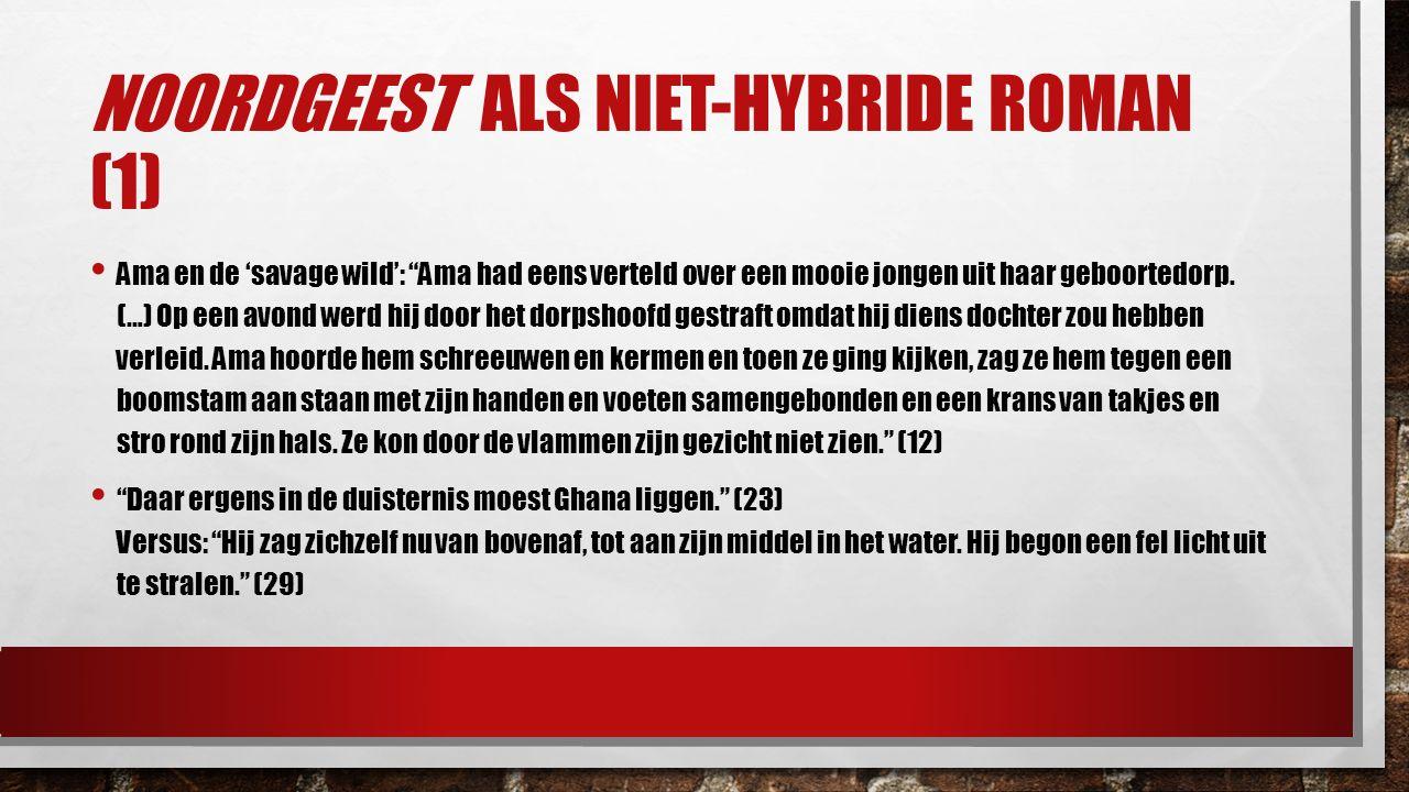 """NOORDGEEST ALS NIET-HYBRIDE ROMAN (1) Ama en de 'savage wild': """"Ama had eens verteld over een mooie jongen uit haar geboortedorp. (…) Op een avond wer"""
