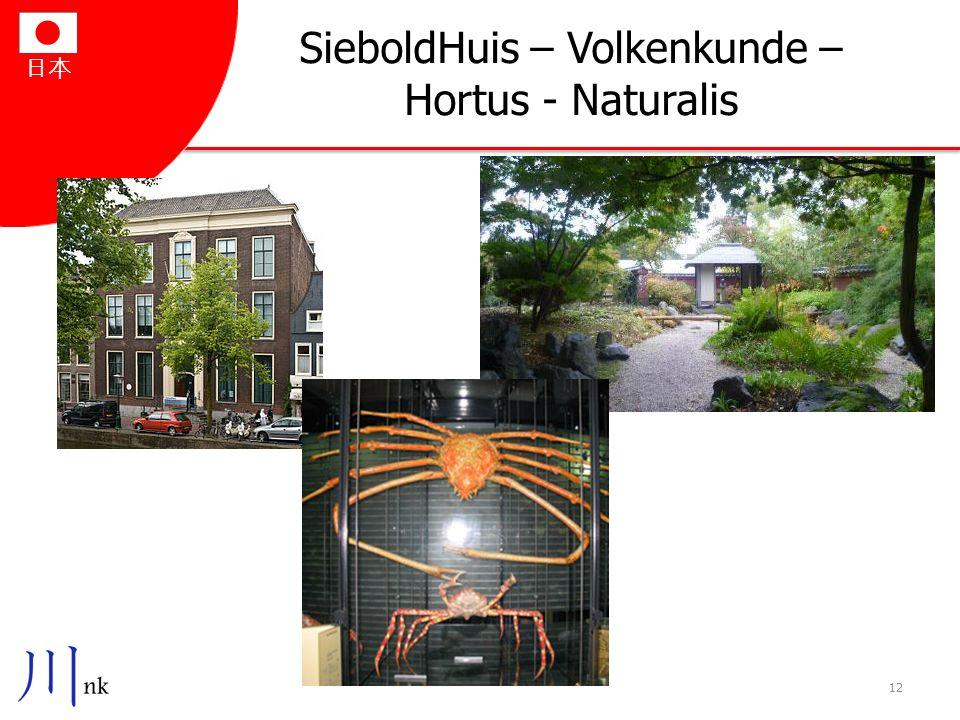 日本 SieboldHuis – Volkenkunde – Hortus - Naturalis 12