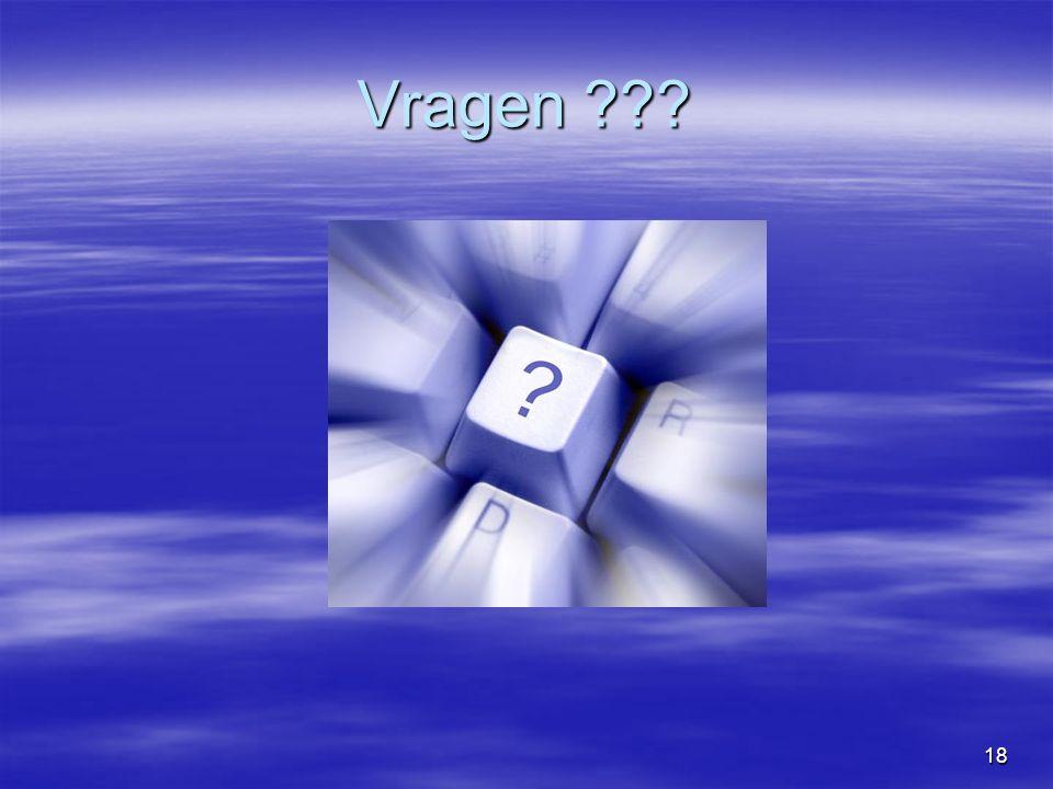 18 Vragen