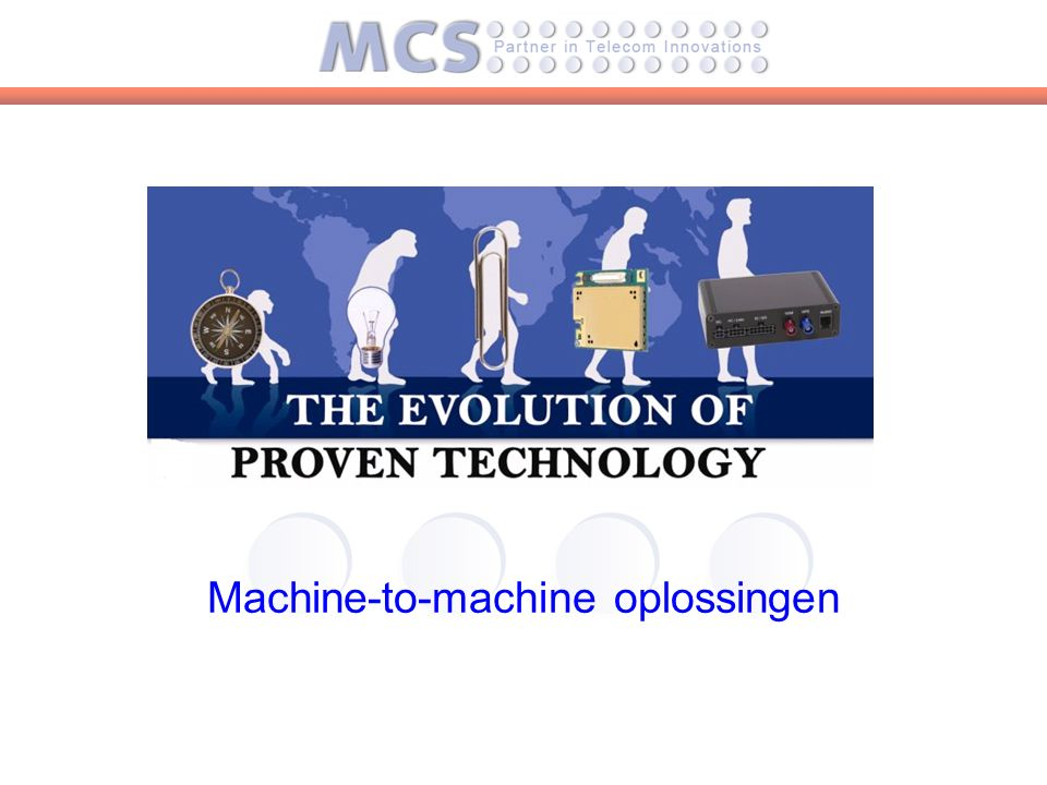 Machine-to-machine oplossingen