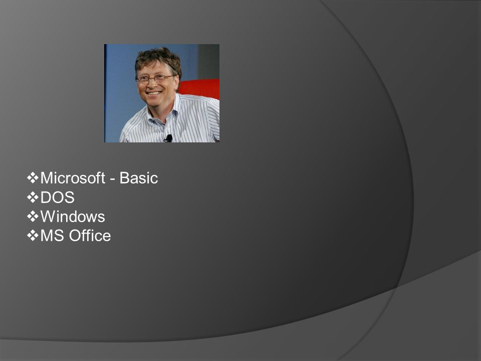  Microsoft - Basic  DOS  Windows  MS Office