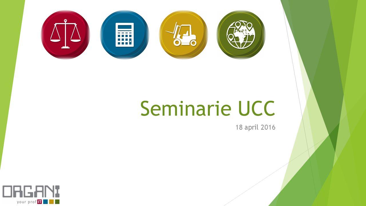 Seminarie UCC 18 april 2016