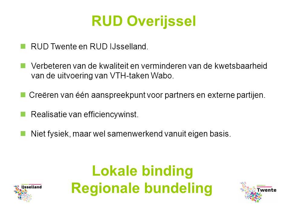 RUD Overijssel RUD Twente en RUD IJsselland.