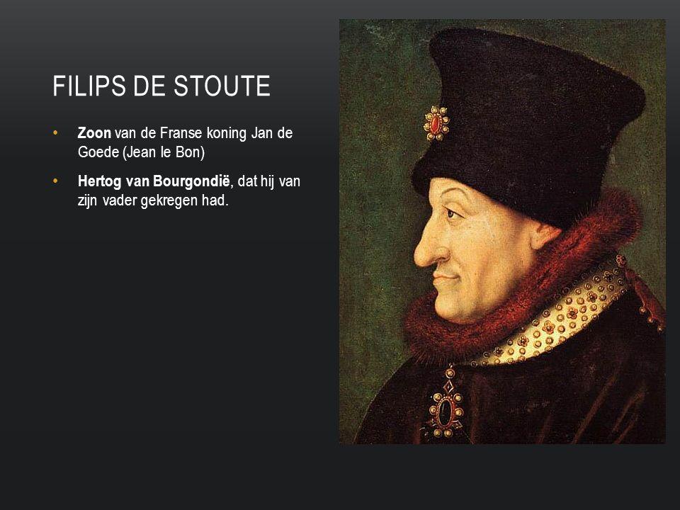 Zoon van de Franse koning Jan de Goede (Jean le Bon) Hertog van Bourgondië, dat hij van zijn vader gekregen had.