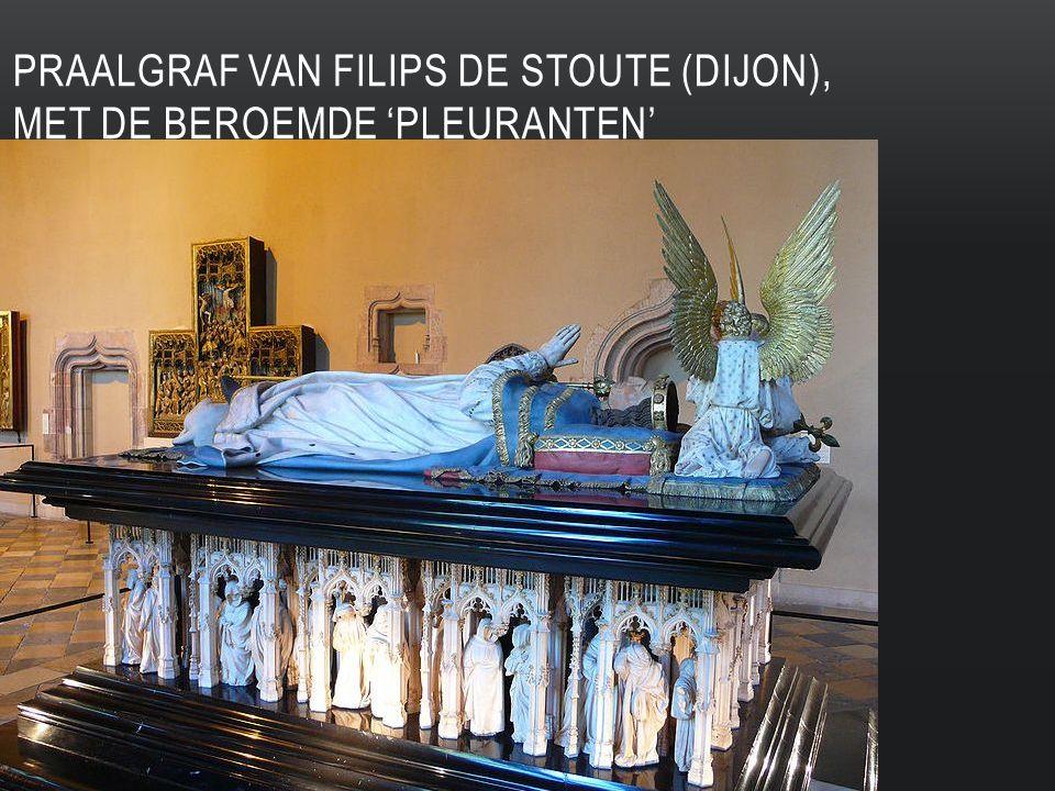 PRAALGRAF VAN FILIPS DE STOUTE (DIJON), MET DE BEROEMDE 'PLEURANTEN'