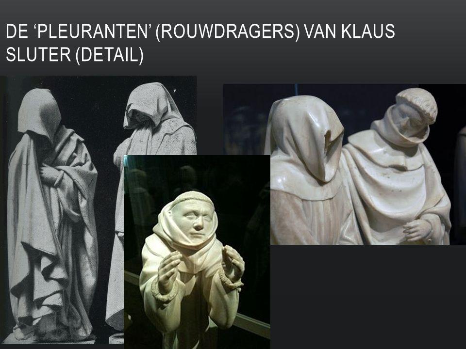 DE 'PLEURANTEN' (ROUWDRAGERS) VAN KLAUS SLUTER (DETAIL)