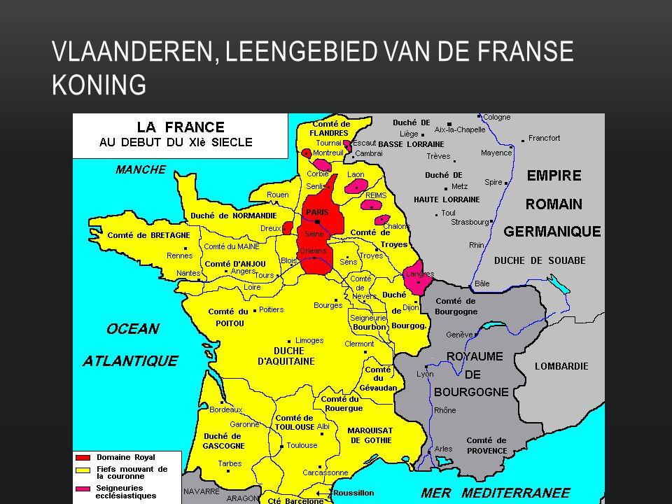 VLAANDEREN, LEENGEBIED VAN DE FRANSE KONING