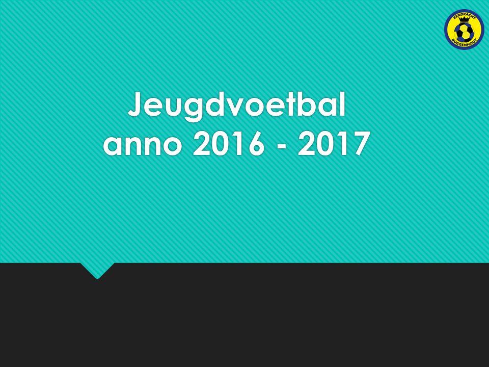 Jeugdvoetbal anno 2016 - 2017