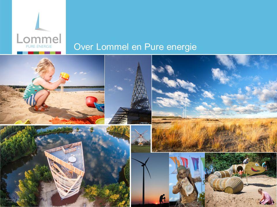 Hier komt een titel Hier komt tekst En een opsomming En een voetnoot Hier komt een hoofdstuk Over Lommel en Pure energie