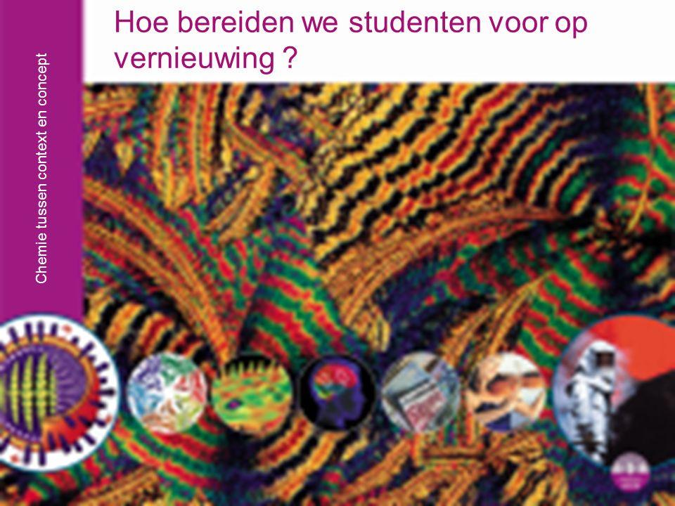 Chemie tussen context en concept Workshop Ecent-symposium 05-06-09 Frank Seller, Stuurgroep Nieuwe Scheikunde