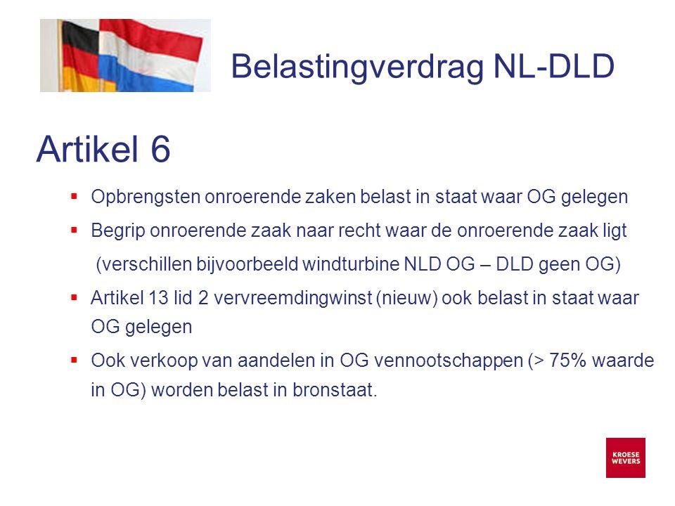 Onze ambitie is accountancy en belastingadvies menselijker en flexibeler te maken Belastingverdrag NL-DLD Artikel 22  Voorkoming dubbele belasting  In Duitsland vrijstellingsmethode indien verrekening niet van toepassing is.