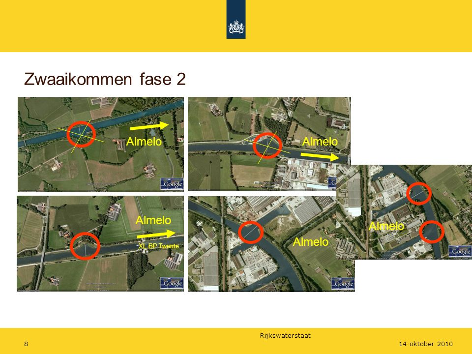 Rijkswaterstaat 814 oktober 2010 Zwaaikommen fase 2 Almelo XL BP Twente Almelo