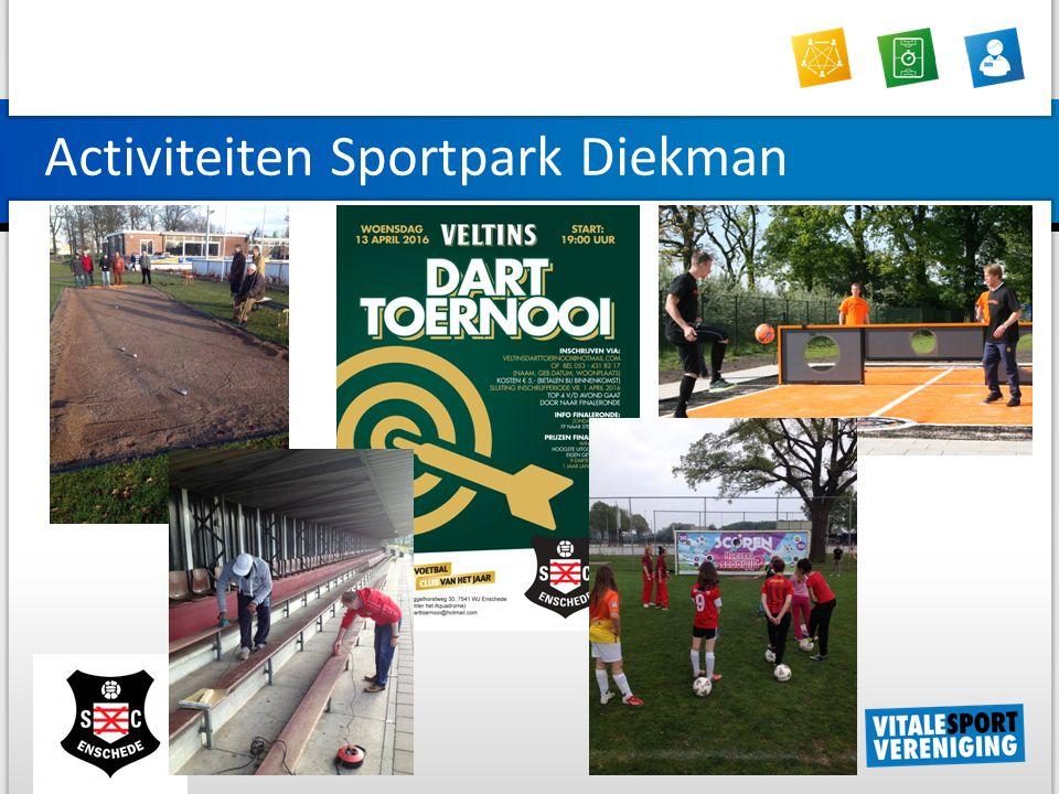 Activiteiten Sportpark Diekman