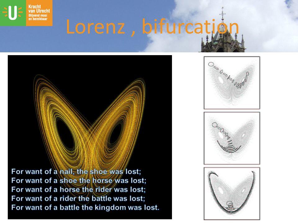 Lorenz, bifurcation