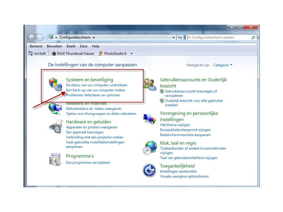 Ook programma bestanden Om ook de programma bestanden zoals Office of Photoshop terug te kunnen zetten moet een IMAGE programma gebruikt worden.
