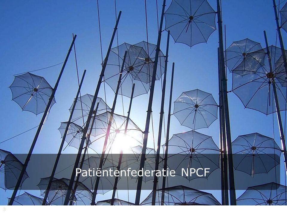 3 Patiëntenfederatie NPCF