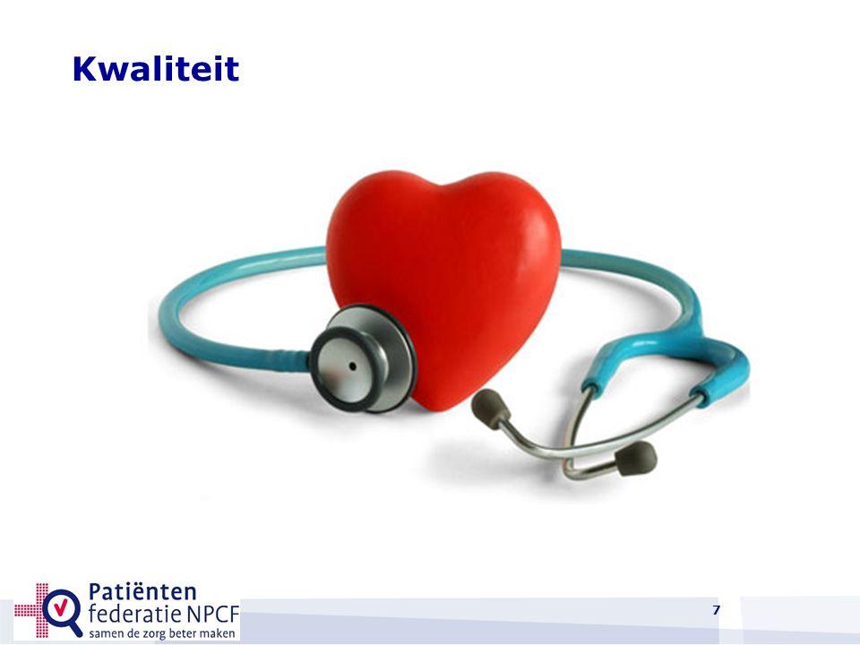 Wat is veilige en goede zorg voor patiënten.Dat er een goede diagnose wordt gesteld.