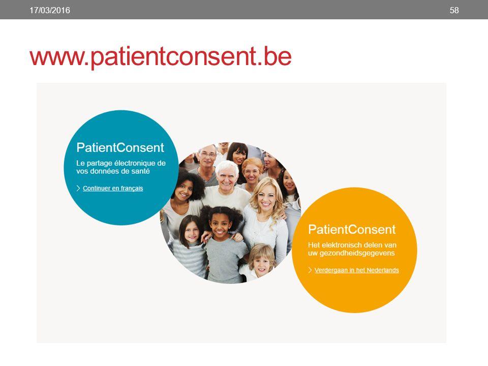 www.patientconsent.be 17/03/201658