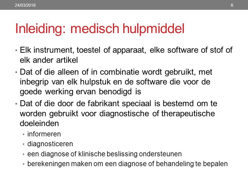 7 Source: https://www.nictiz.nl Whitepaper medische apps