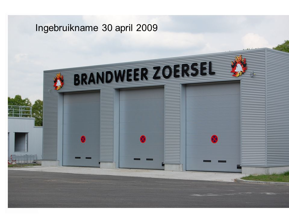 Ingebruikname 30 april 2009