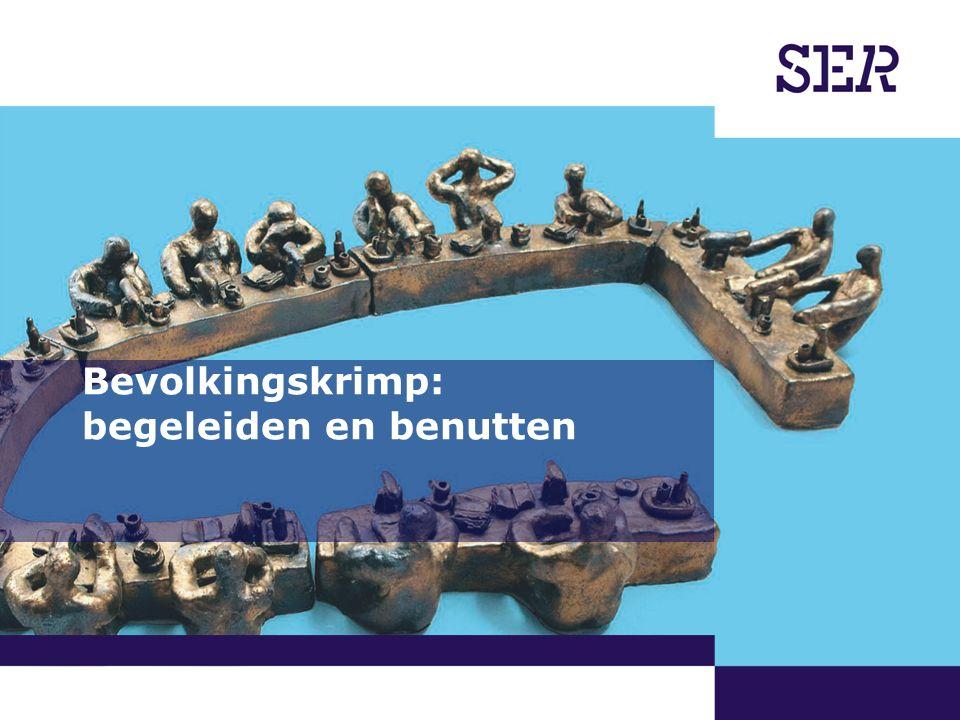 00-00-2009 | pagina 1/x | Afdeling Communicatie Bevolkingskrimp: begeleiden en benutten