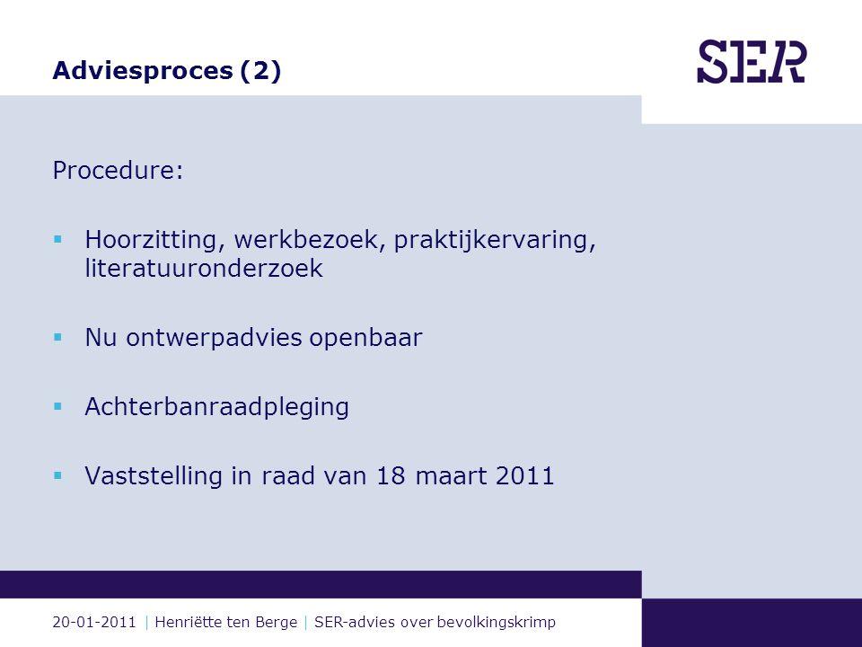20-01-2011 | Henriëtte ten Berge | SER-advies over bevolkingskrimp Illustratie: Roel Venderbosch