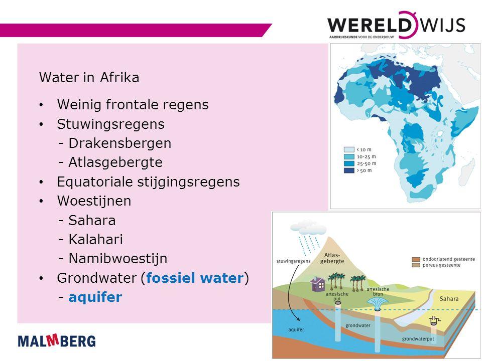 Paragraaf 3 Waterwinning en watergebruik Gebruik en verbruik van water Watergebruik - tijdelijk, komt terug als afvalwater - huishoudens - industrieën - proceswater Waterverbruik - kan niet worden hergebruikt - verdampt, verwerkt, ernstig vervuild - landbouw Watervoetafdruk