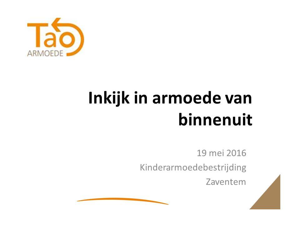 Inkijk in armoede van binnenuit 19 mei 2016 Kinderarmoedebestrijding Zaventem