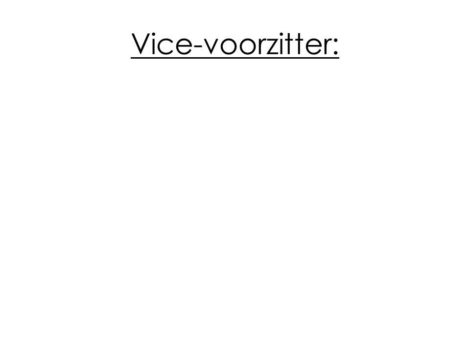 Vice-voorzitter: