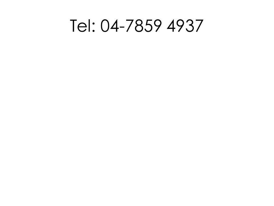 Tel: 04-7859 4937