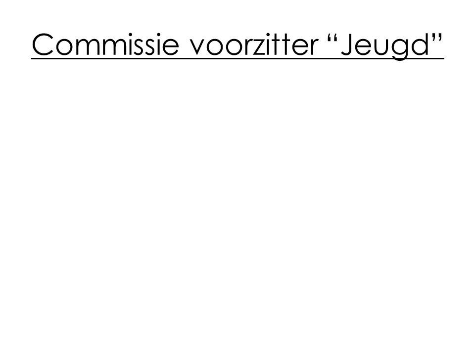 Commissie voorzitter Jeugd