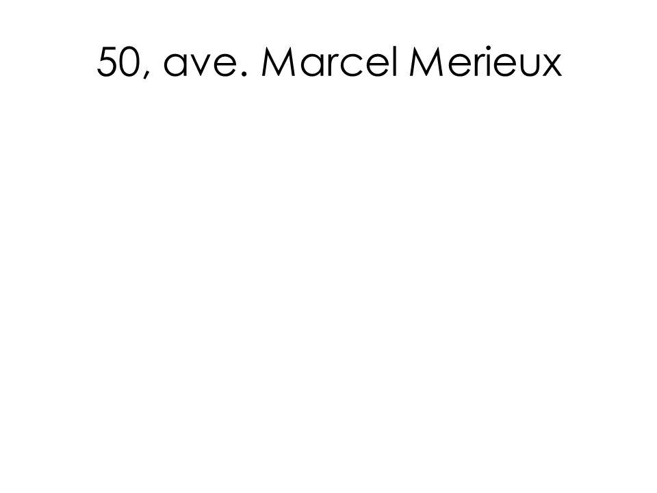 50, ave. Marcel Merieux