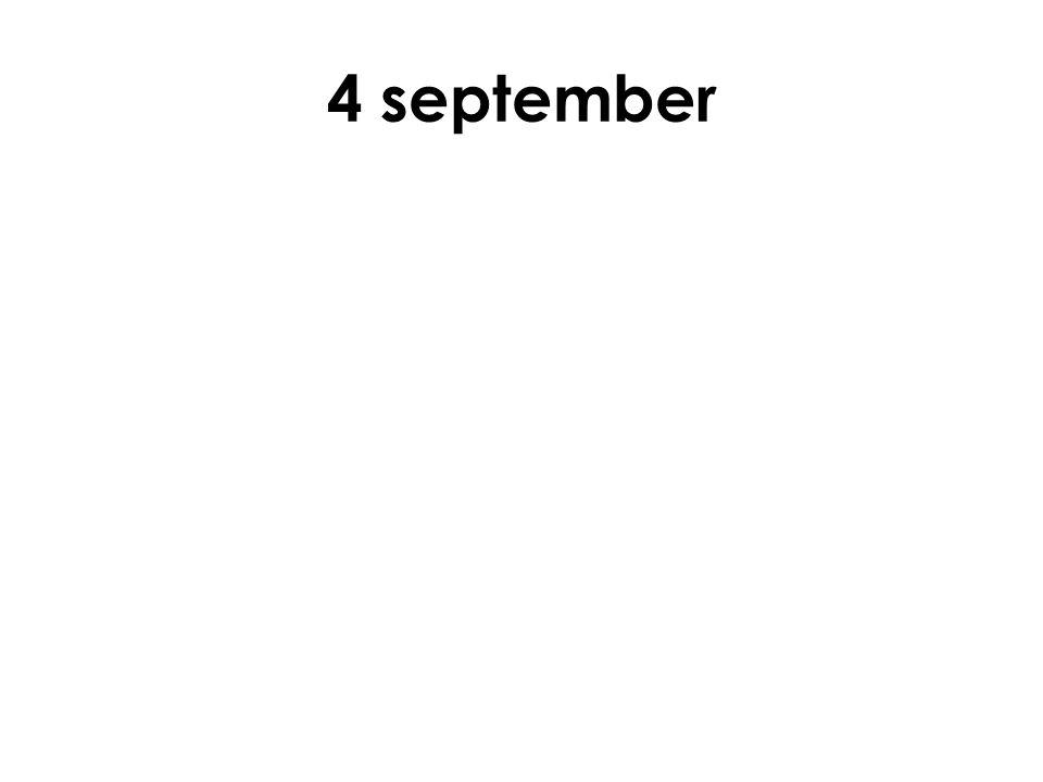 4 september