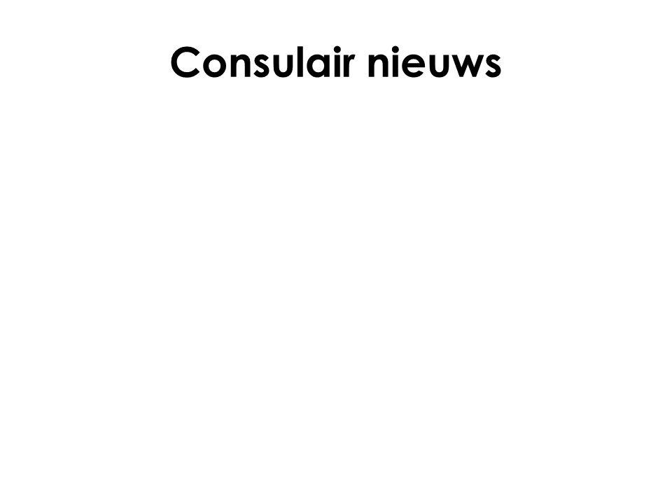 Consulair nieuws