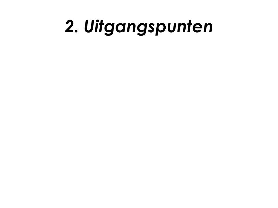 2. Uitgangspunten