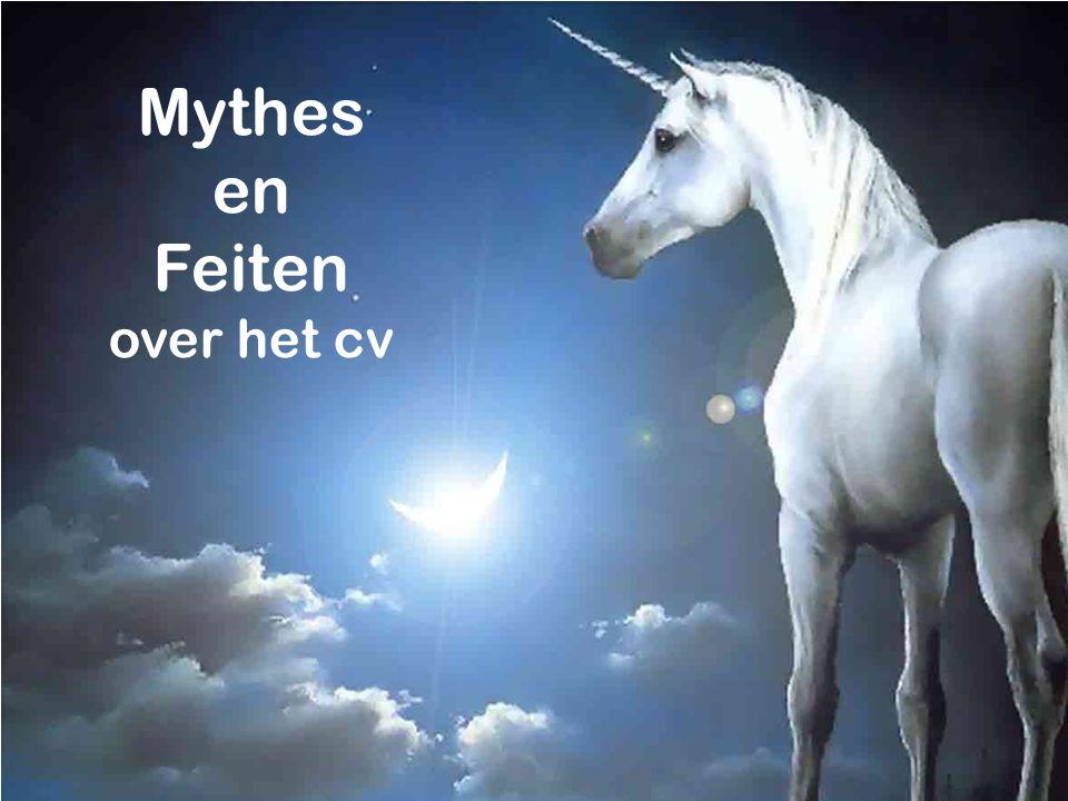 Mythes en Feiten over het cv