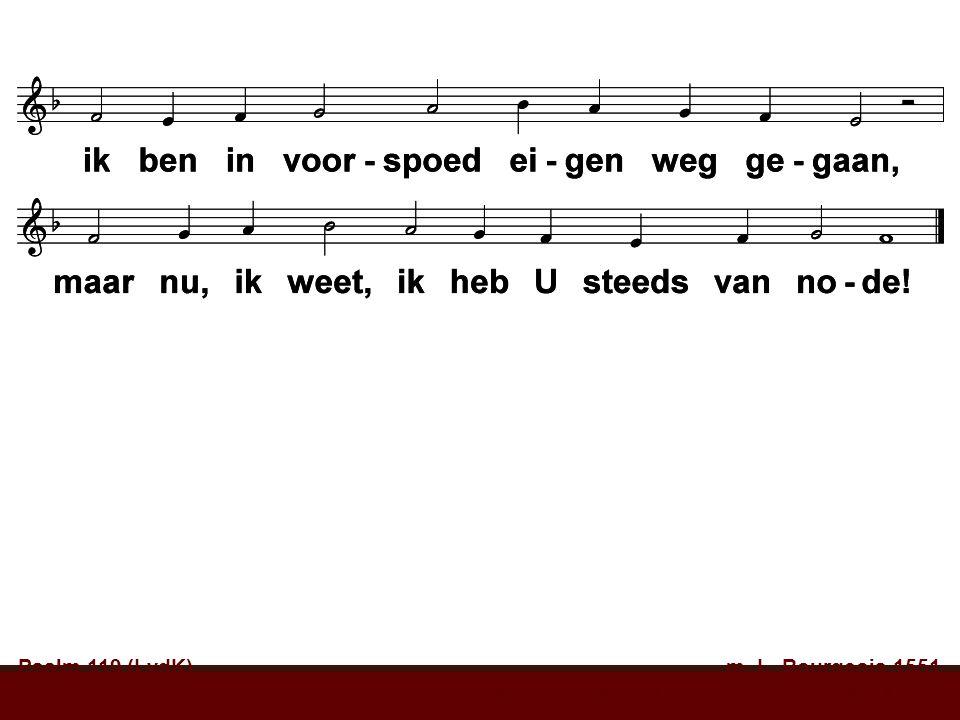 Psalm 119 (LvdK) m. L. Bourgeois 1551 t. W. Barnard, A.C.