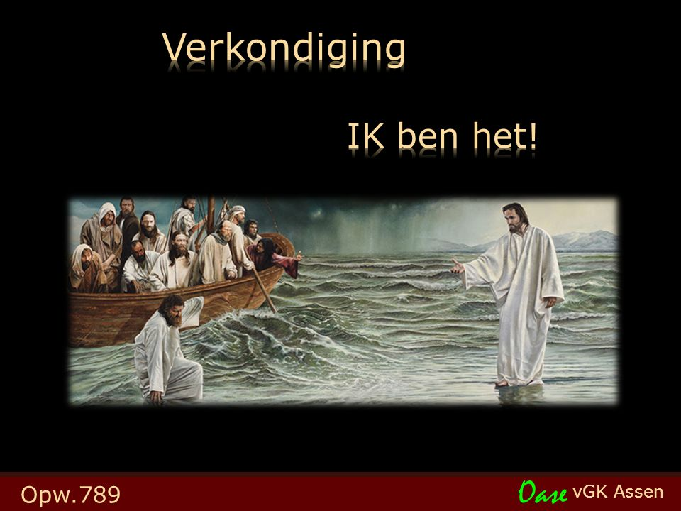 vGK Assen Oase Opw.789