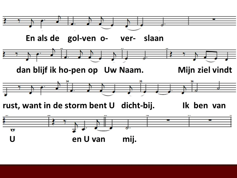 Psalm 107 (LvdK) t. W. Barnard; m.