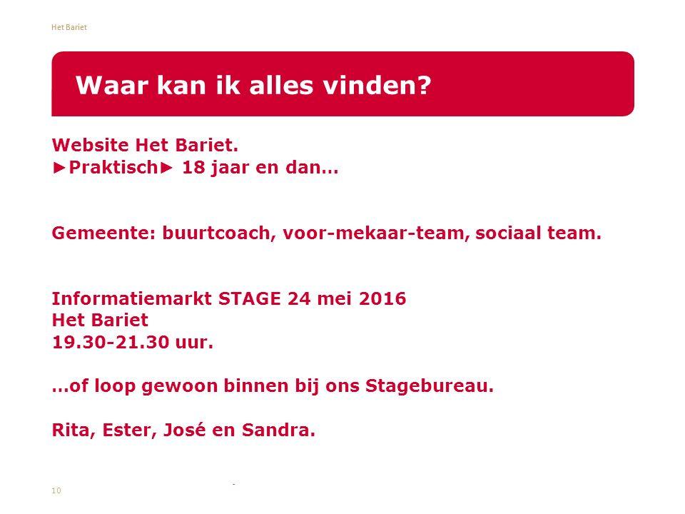 Het Bariet Website Het Bariet.