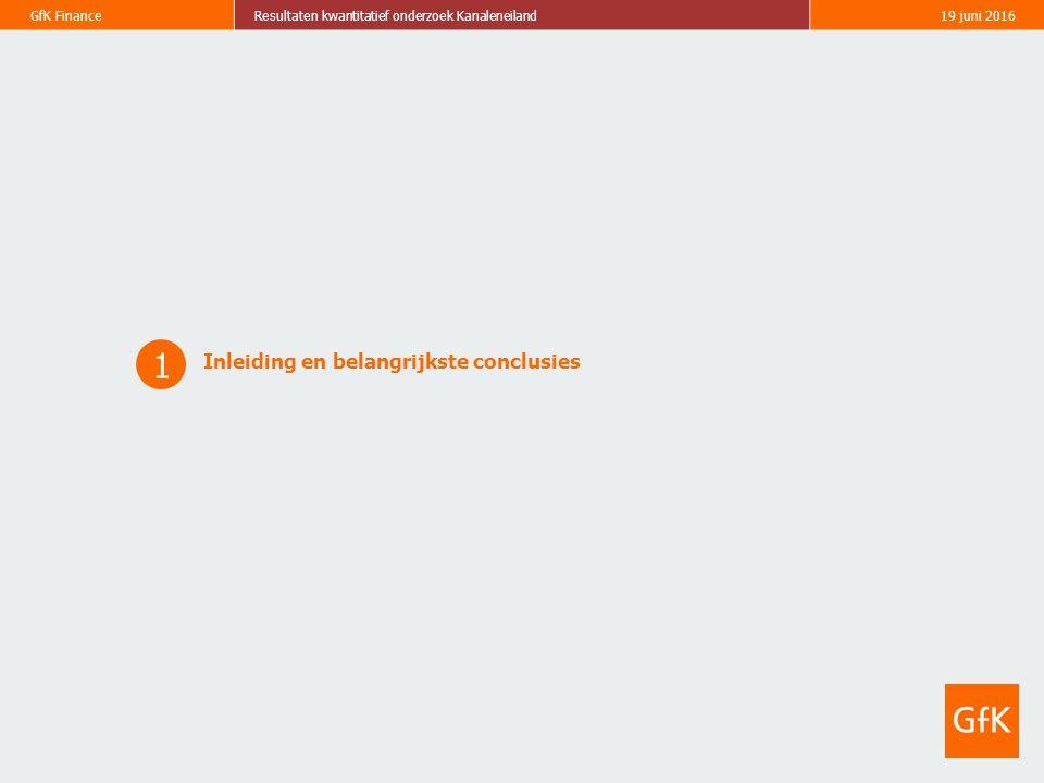 4 GfK FinanceResultaten kwantitatief onderzoek Kanaleneiland19 juni 2016 Doel en opzet rapportage Doel Deze rapportage concentreert zich primair op de resultaten van het kwantitatieve onderzoek naar verzekeren binnen krachtwijken.