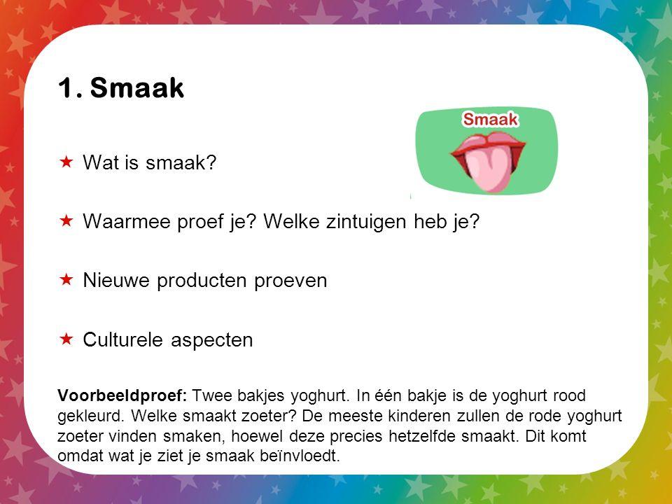 Digibord: www.smaaklessen.nl/digibord  Digibord: bij elke les een opdracht op het digibord (spel, filmpje, afbeelding, woordweb, etc.)  Ook de les en kopieerbladen in de digibordmodule