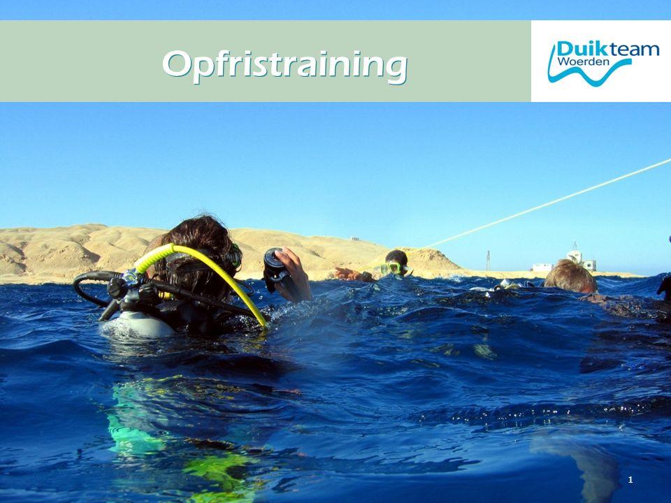 Nederlandse Onderwatersport Bond Opfristraining 1