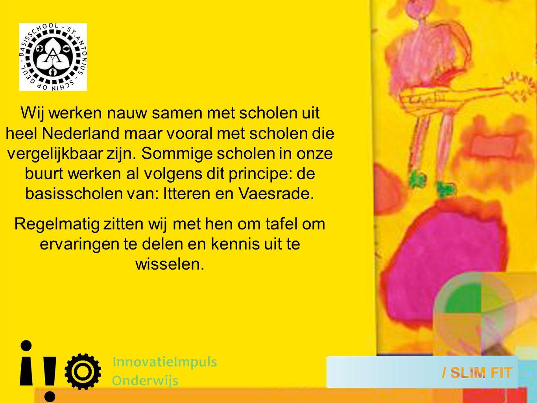 Wij werken nauw samen met scholen uit heel Nederland maar vooral met scholen die vergelijkbaar zijn.