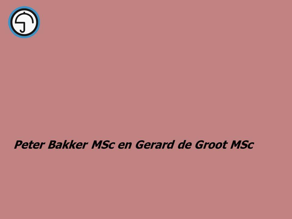 Peter Bakker MSc en Gerard de Groot MSc Preventie Professionals Nederland