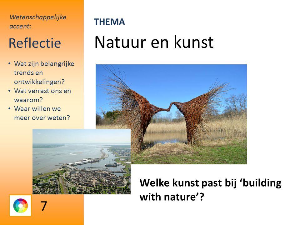 Natuur en kunst Reflectie Welke kunst past bij 'building with nature'.