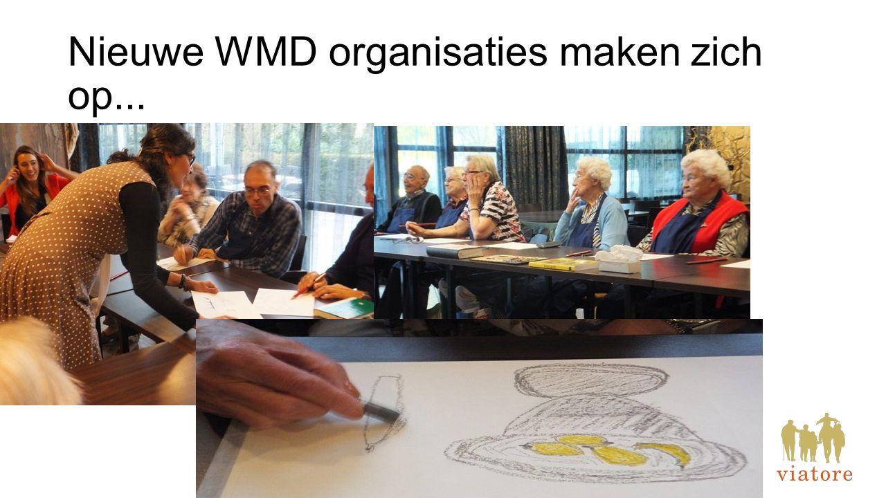 Nieuwe WMD organisaties maken zich op...