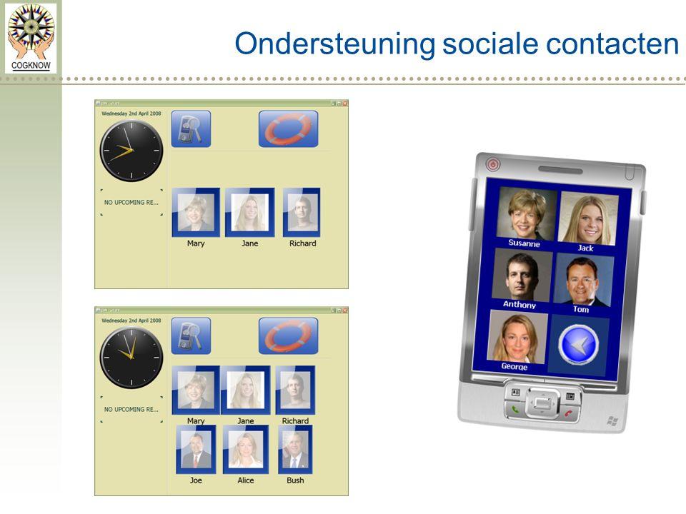 Ondersteuning sociale contacten