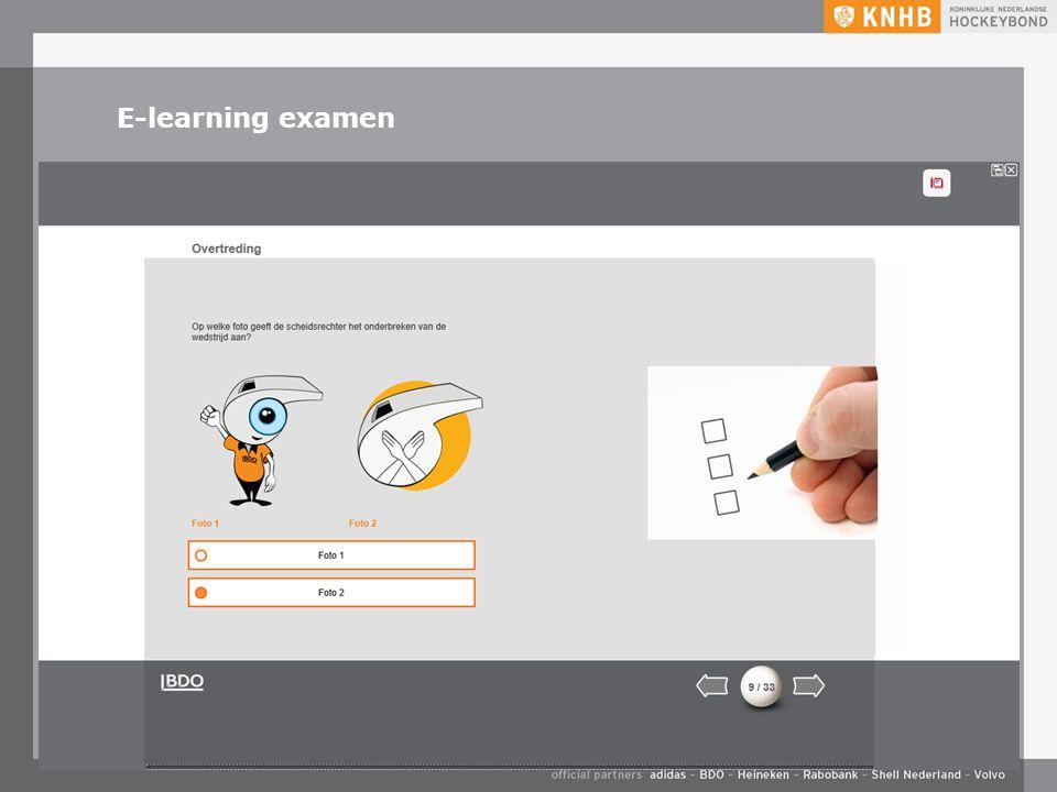 E-learning examen